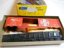 HO TRAIN ATHEARN 50' DBL DR AUTO BOXCAR KIT SANTA FE ATSF