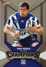 2011 NRL SELECT CHAMPIONS BULLDOGS JOSH MORRIS SILVER PARALLEL SP25 FREE POST