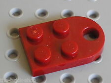 LEGO Star Wars DkRed Plate 3 x 2 with Hole ref 3176 / Set 8088 7259 4504 4881