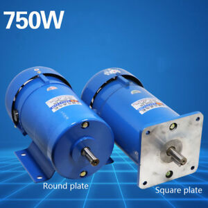 750W Permanent Magnet DC Motor Variable Speed Control Motor 1800RPM DC 220V