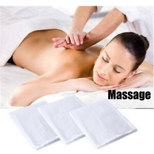 100PC Disposable Beauty Bed Sheet Plastic Massage SPA Salon Table Cover 90*180CM