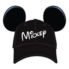 Disney Mickey Mouse Men's Character Baseball Hat
