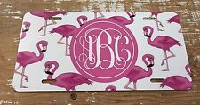 Flamingo License Plate Monogrammed Personalized Flamingo Car Tag New