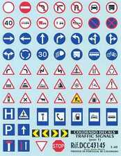 Colorado Decals 1/43 TRAFFIC SIGNS AND ROAD SIGNS Part 1