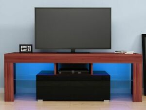 Gloss Front LED TV Stand Modern LED Living Room Furniture TV Cabinets Design