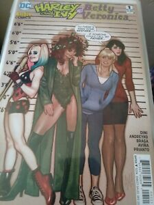 Harley and Ivy Meet Betty and Veronica #1 DC Comics (both covers)