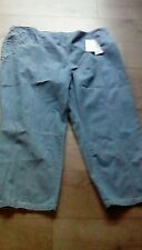 Ladies  M&S Classic Tapered leg  blue Jeans size 24 Short brand new with tags x