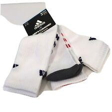 Adidas Men's Cushioned 3 Pair Crew Socks Shoe Size 6-12