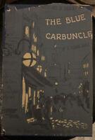 "Nice Arthur Conan Doyle Sherlock Holmes ""The Blue Carbuncle"" 1948 w/ Dust Jacket"