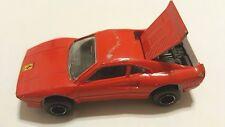 Majorette France Diecast HTF Ferrari F288 GTO (Red) 1:56 Scale Model Car #211