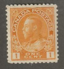 "Canada 1922 #105 King George V ""Admiral"" Issue - VF MH"