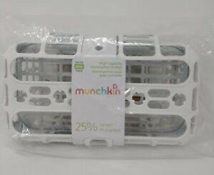 Munchkin Dishwasher Basket Grey & White, Baby Toddler Bottles, Pacifiers, Straws