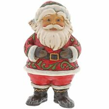 Jim Shore Heartwood Creek 4058802 Be Jolly Santa in Boots Figurine