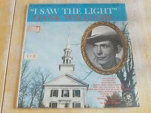 HANK WILLIAMS - I Saw The Light, viny LP, MGM Records, SE-3331 VG+/VG