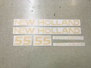 New Holland 55 Rake Decals
