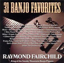 """RAYMOND FAIRCHILD, CD RUR 254 """"31 BANJO FAVORITES"""" NEW SEALED"""