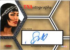 TNA Salinas 2008 Tristar Impact SILVER Authentic Autograph Card DWC