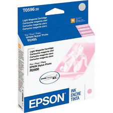 Genuine Epson T0596 light magenta R2400 2400 ink 59 T059 596 T059620 C13T059620