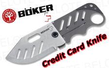 Boker Plus Credit Card Knife Plain Edge SLIM 01BO010
