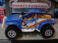 2013 Matchbox 4X4 BUGGY∞Blue/White∞Outdoor Wilderness Adventures∞NEW Loose∞60th