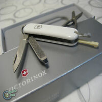 【v062237】Victorinox Swiss Army Knife 58mm Classic White 7 Function PocketTool