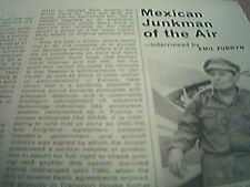 magazine cutting 1976 mexican junkman air emil zubryn interview 2 page