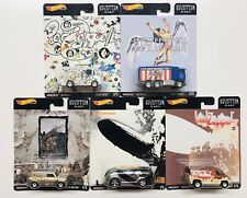 HOT WHEELS 2020 POP CULTURE LED ZEPPELIN COMPLETE 5 CAR SET PRE-ORDER
