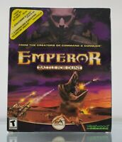 Emperor Battle for Dune (PC, 2001) - RTS Game - Big Box with Inserts