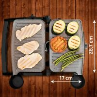 Sandwich Maker Grill Panini Grill Iron 1500W 180º Opening RockStone New Genuine