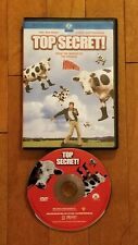 Top Secret (DVD, 2002, Sensormatic) Val Kilmer *RARE* OOP Free Shipping