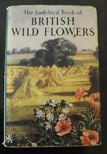VINTAGE LADY BIRD BRITISH WILD FLOWERS