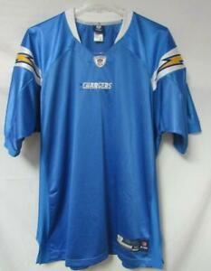 Los Angeles Chargers Mens Size 52 Blank Sewn Jersey with Name Plate A1 2084