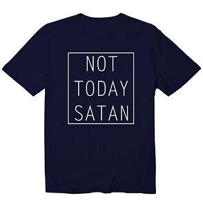 Not Today Satan Christian Church Unisex Kid Youth T-Shirt