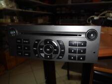 autoradio origine cd Peugeot 407 rd4 MP3  , 9659142877  (réf 5943 )