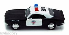 Kinsmart 5341DP Chevrolet Camaro Z28 1967 Police Car 1:37 Scale Diecast Model