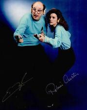 Original Autogramm Eric Menyuk und Robin Curtis aus Star Trek, Echtfoto 20x25cm