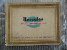 More details for hercules cycles catalogue, 1930s?