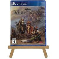 Realms of Arkania: Blade of Destiny PlayStation 4 PS4 New Factory Sealed