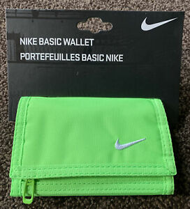 Nike Basic Wallet NIA08385NS, green, Unisex
