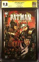BATMAN WHO LAUGHS #4 CGC SS 9.8 SUAYAN VARIANT GRIM KNIGHT ARKHAM JOKER DC COMIC