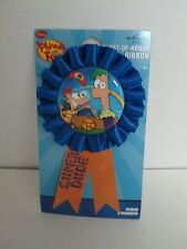 Disney PHINEAS AND FERB GUEST OF HONOR RIBBON - Birthday Party Supplies