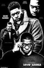 "DAVID BANNER  11x17  ""Black Light"" Poster"