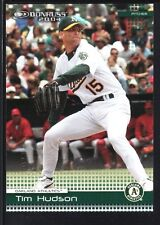 TIM HUDSON 2004 DONRUSS #173 ORANGE COUNTY EMBOSSED ATHLETICS SP #2/5