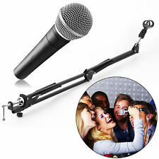 Mic Microphone Suspension Boom Scissor Arm Stand Holder for Studio Broadcast HH