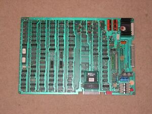 GALAXIAN Arcade Game PCB Board with High Score Save - 100% Working