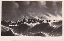 ROYAL NAVY HMS COVENTRY C1931 REAL PHOTOGRAPHIC POSTCARD