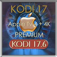 UPGRADE SERVICE PREMIUM | Apple TV 4 / 4K 32 GB / 64 GB | KODI 17.6 + Kovoo |
