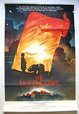 ORIGINAL VINTAGE RARE 1987 THE LAST EMPEROR HUGE 27
