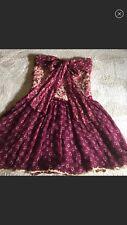 DOLCE & GABBANA ITALY silk Flower print dress IT size 42 Gorgeous Bow $3500