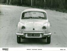 Photo de presse ancienne Renault voiture automobile Dauphine Gordini 1966